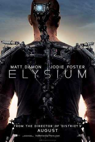 Elysium 2013 BRRip 720p Dual Audio In Hindi English ESub