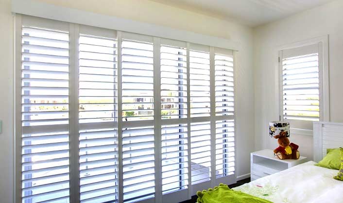 You Can Compare The Plantation Shutters For Sliding Gl Type Doors Cost Online And Order Them With Free Home Delivery