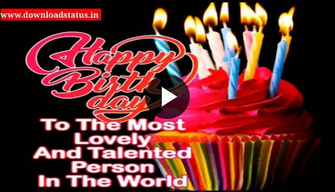 Happy Birthday Dad From Daughter - Download Best Birthday Status Video For Dad