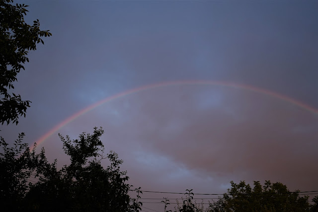 Curcubeu pe cerul Timisoarei. FOTO si VIDEO