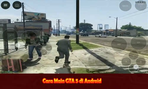 Cara Main GTA 5 di Android