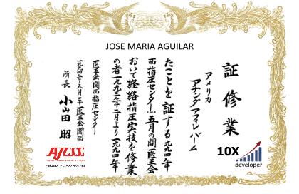 Certificado oficial de Desarrollador 10x