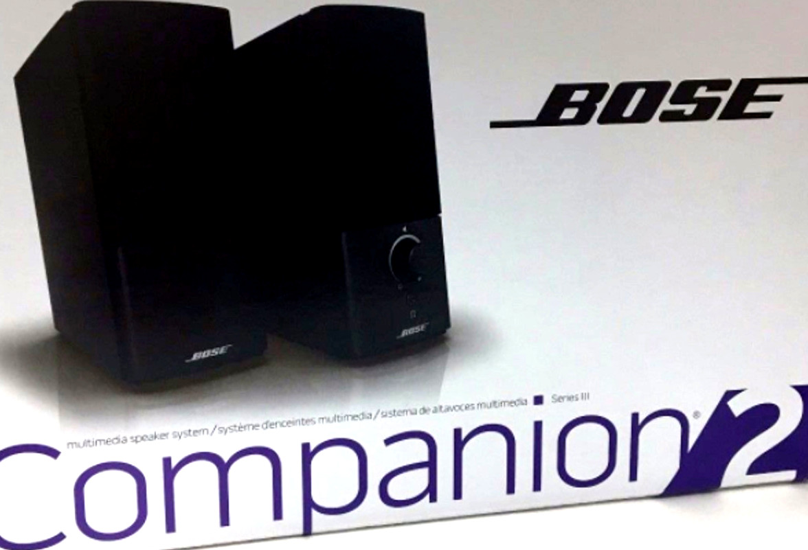 bose companion 2 series iii at guitar center review. Black Bedroom Furniture Sets. Home Design Ideas
