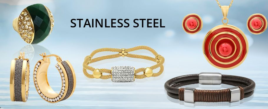 Time to get in on the Trend with Cool Stainless Steel Jewelry
