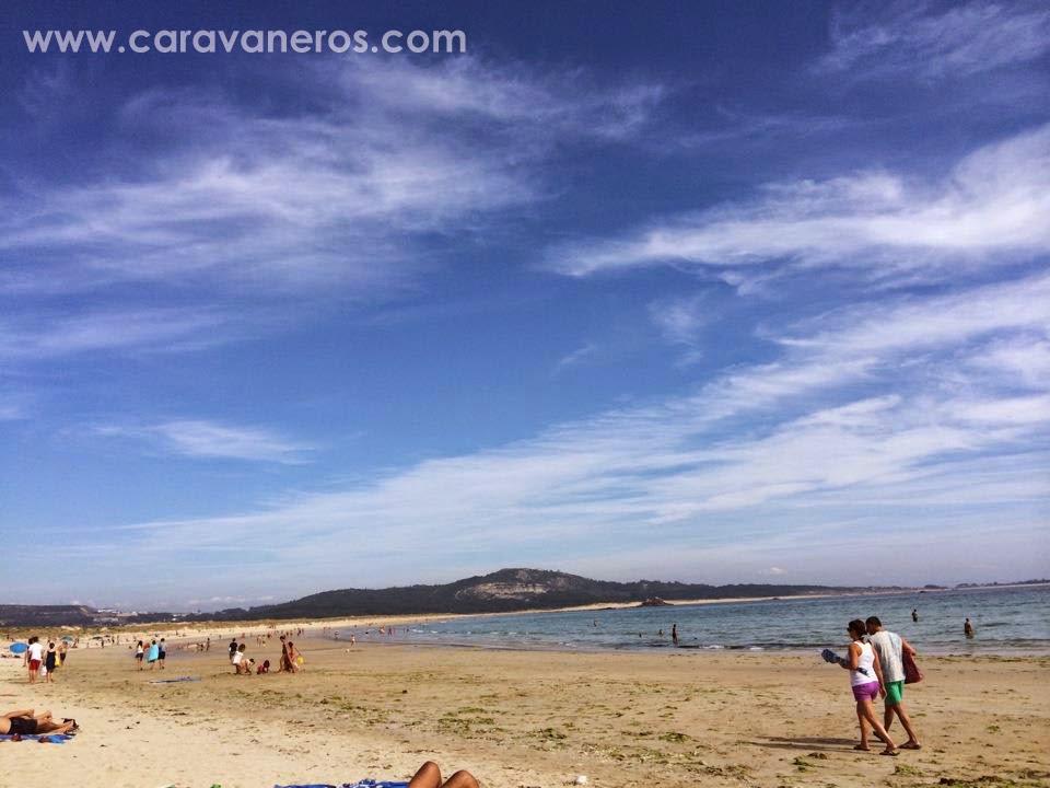 Foto de la Playa de Corrubedo | caravaneros.com