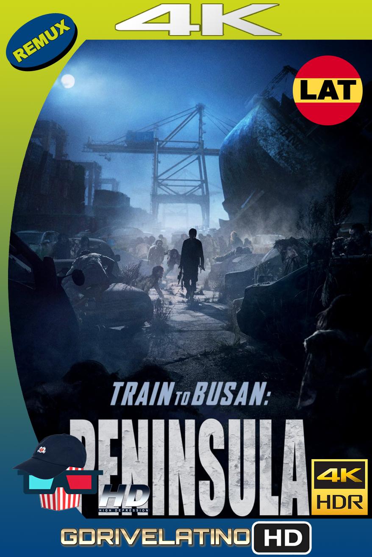Estación Zombie 2: Península (2020) BDRemux FULL 4K HDR Latino-Ingles MKV