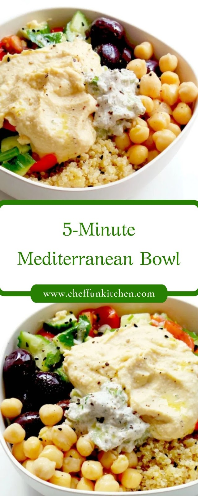 5-Minute Mediterranean Bowl