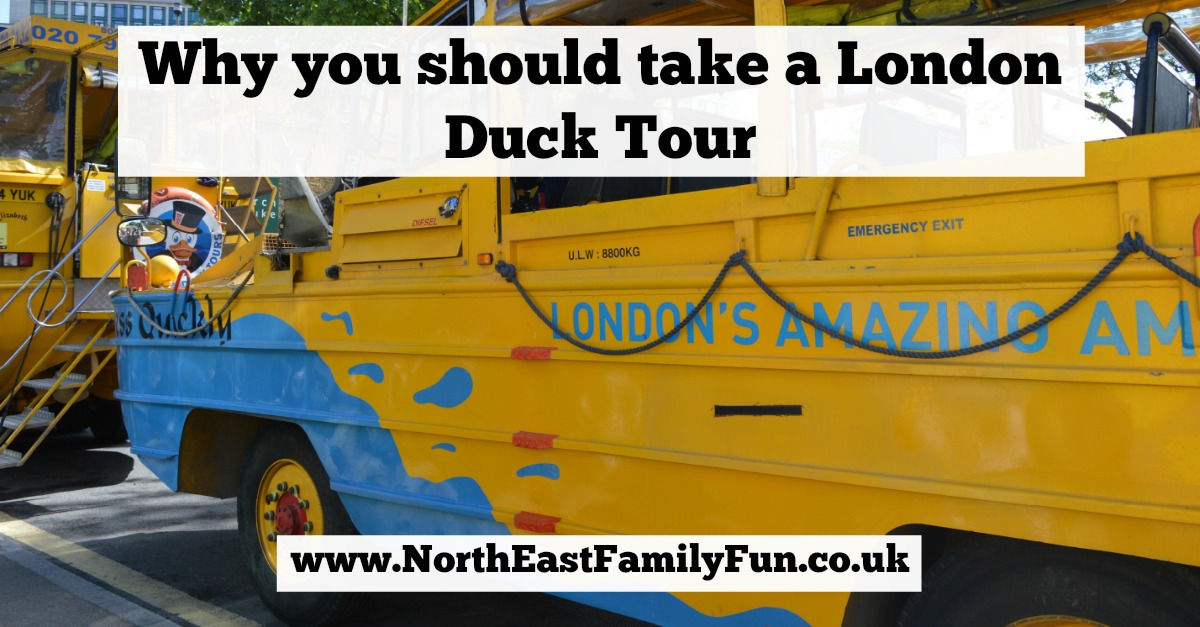 First trip to London with kids? Here's why you should take a London Duck Tour