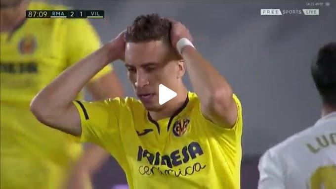 VIDEO: Real Madrid 2:1 Villarreal / La Liga,