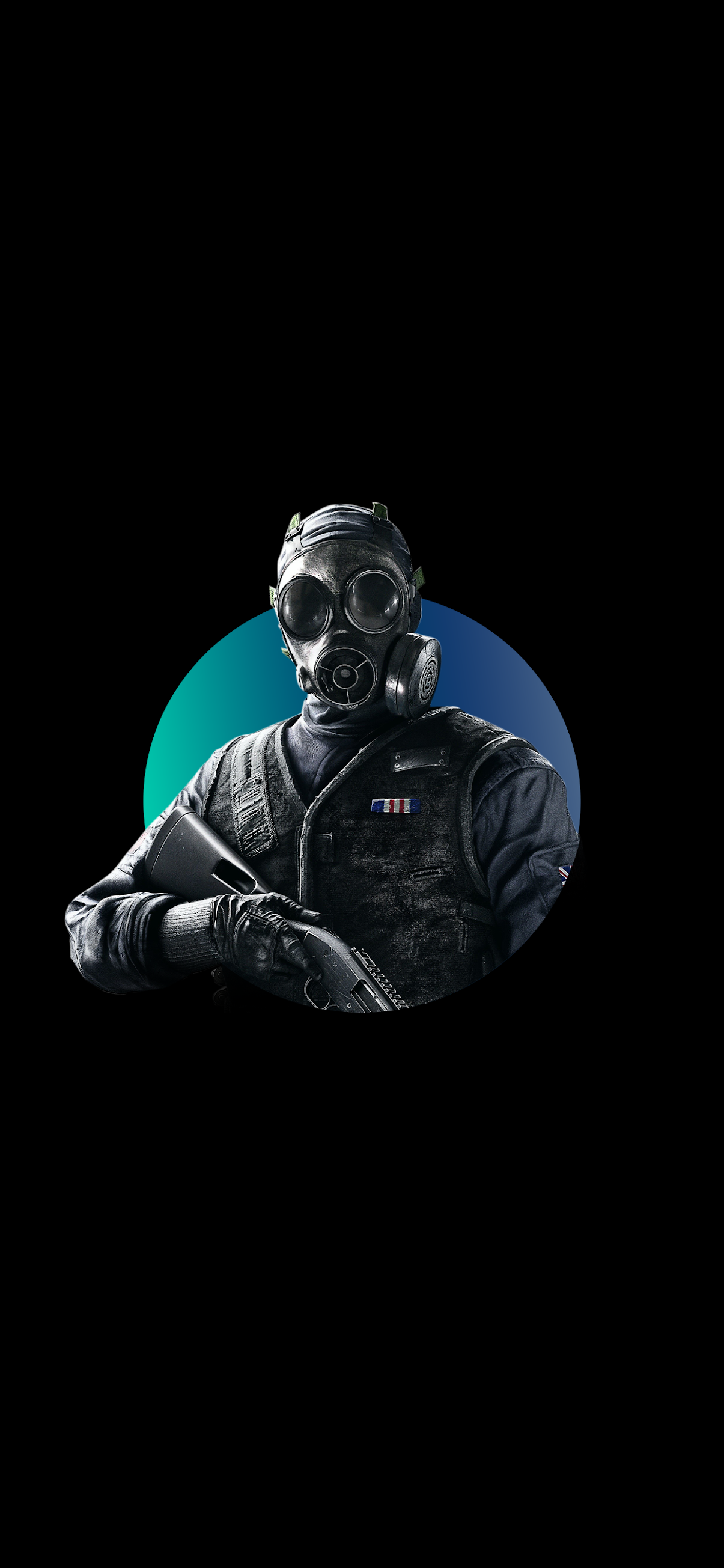 Thatcher de Tom Clancy's Rainbow Six Siege black wallpaper