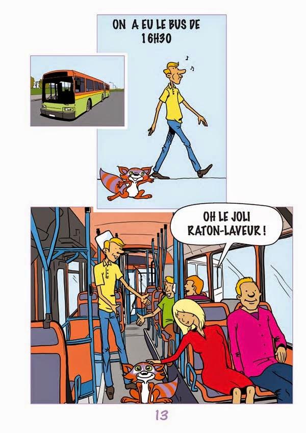BD Didactique sur l'hygiène réalisée par Jill & Pascal Labranche pour Espéranto cg