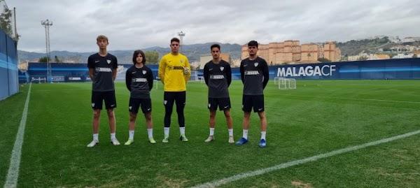 Málaga, mucha novedad de la cantera en el entreno y Ramón vuelve a pisar el césped
