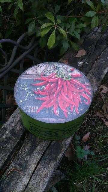 Inspiracje ze świata przyrody – pikantne pudełko z łuby na przydasie ;)