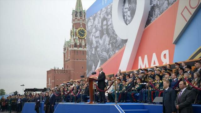 Putin asegura que Rusia seguirá reforzando su potencia militar