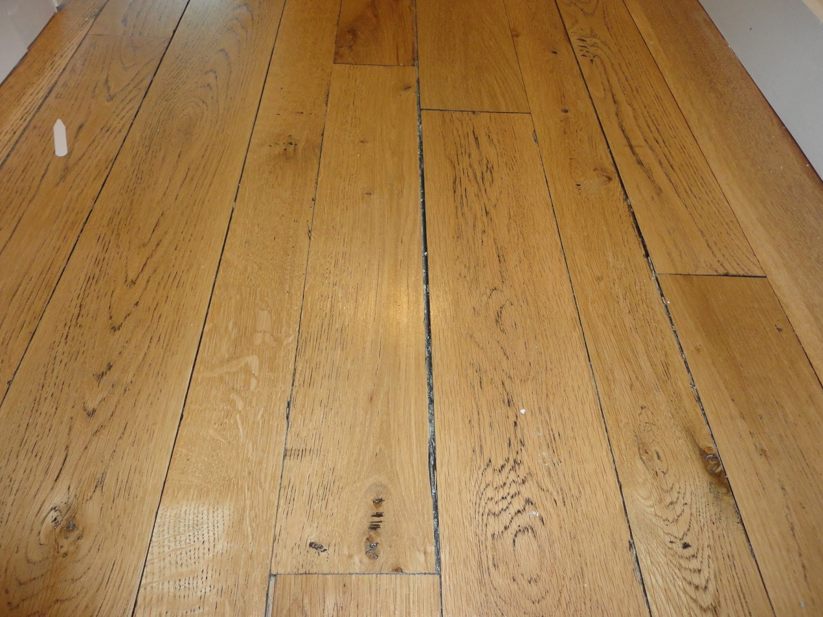 White Washed Hardwood Flooring