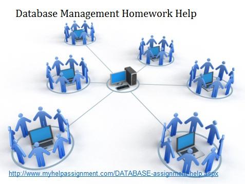 Database homework help