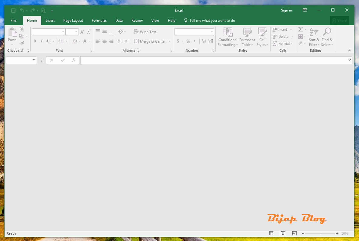 Isi Ms Excel Kosong Ketika Dibuka Bijep Blog