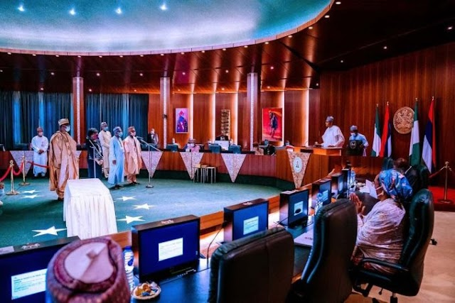 PRESIDENT Muhmmadu Buhari on Wednesday swore-in four newly appointed Permanent Secretaries of the Federal Civil Service