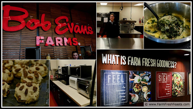 scenes from a tour of the Bob Evans Farms corporate HQ