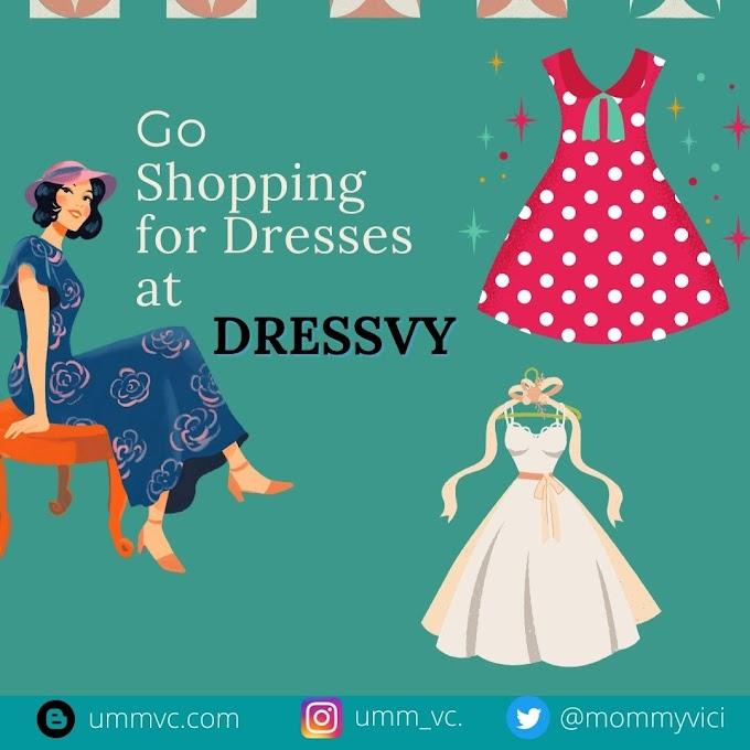 Go Shopping for Dresses at DRESSVY
