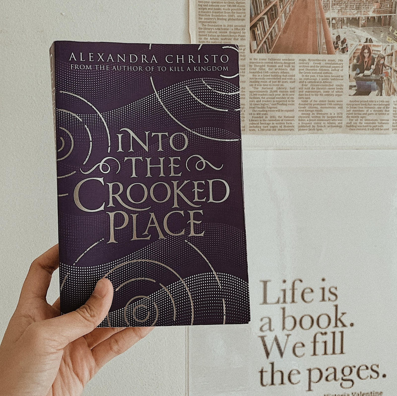 Book Review Into The Crooked Place By Alexandra Christo