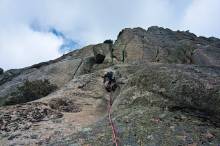 Pico de la Miel, Vía de Escalada Clásica Espolón Manolín