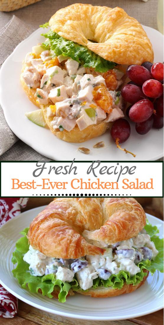 Best-Ever Chicken Salad #vegan #vegetarian #soup #breakfast #lunch