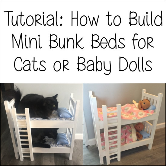 Cat and Doll Bunk Beds
