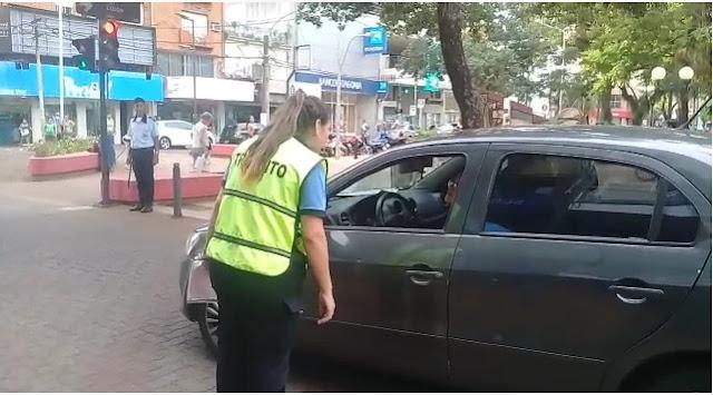 Realizan tareas de concientizacion sobre seguridad vial