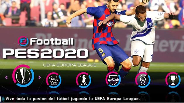 Download PES 2020 Lite PPSSPP Europa League | Socceroid