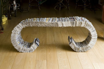 Creative and Cool Ways to Reuse Old Newspapers (30) 17