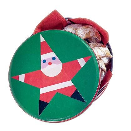 Starry Santa Tin: Santa Christmas Crafts