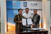 PT GNE Teken MoU Dengan PT Potum Bangun SPAM Regional Senilai 2 Triliun Rupiah