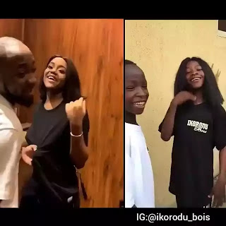 Video: Ikorodu Bois Mimic Davido Smacking Of Chioma's  ass On Valentine's Day