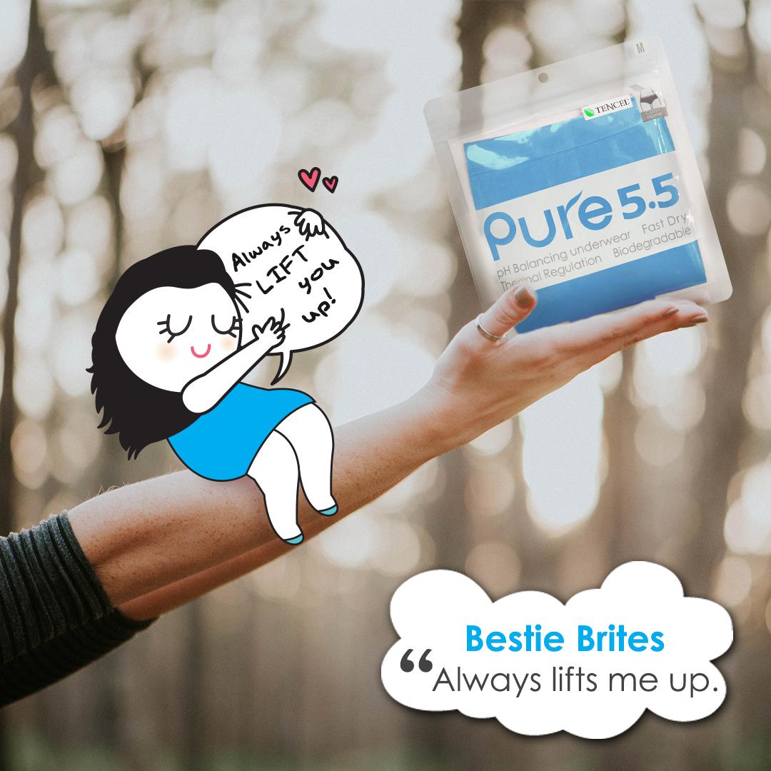 aPure Pure55 pH Balancing Underwear - Your Best Besties!