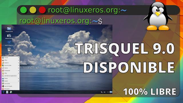 Disponible Trisquel GNU/Linux 9.0, 100% Libre