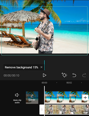 how to add background to video without green screen