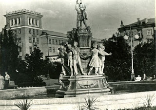 """Fountain """"Friendship of Peoples"""", historical photo 2"""