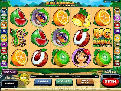 Enjoy Big Wins By Playing Big Kahuna Snakes & Ladders Slots