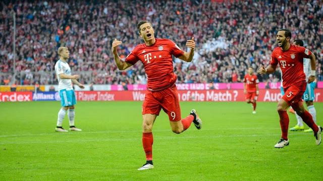 Robert Lewandowski Bayern München Bundesliga