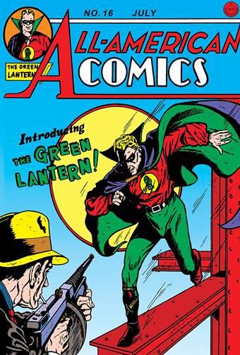 Primera aparición de Green Lantern