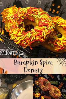 easy pumpkin spice donuts recipe
