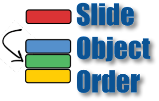 Slide Object Order icon