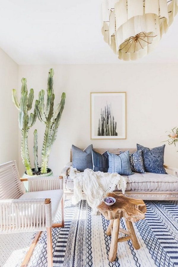 Original Ideas For Decorating Interiors With Cactus 6