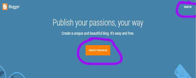 How to Create A Free Blog on Blogger in Hindi 2020