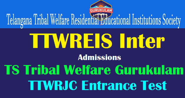 TTWRJC CET 2021 notification, ts tribal welfare inter apply online last date