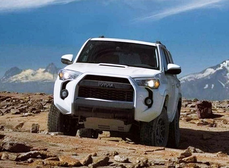 2018 4Runner TRD limited interior and Interior