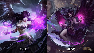All Skins Splash Arts Comparison