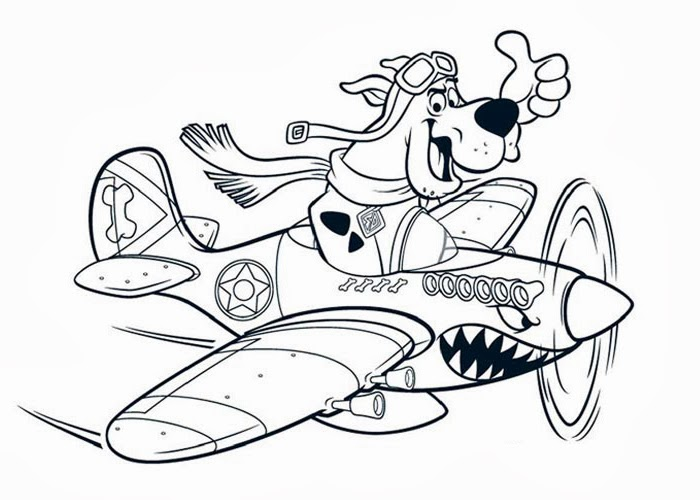 scooby doo coloring pages com - photo#36