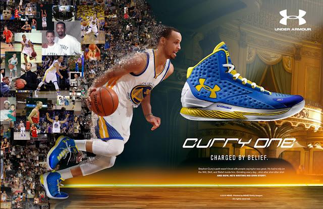 El mayor problema de Under Armour en la NBA es... ¡Stephen Curry!